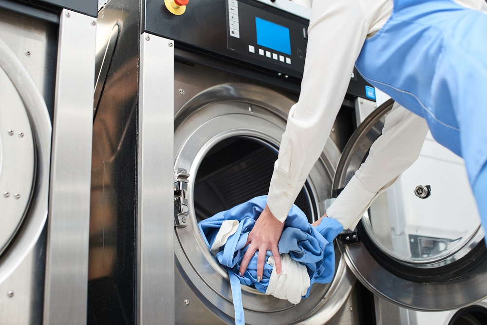 commercial laundry, on premise laundry, auto-chlor, housekeeping