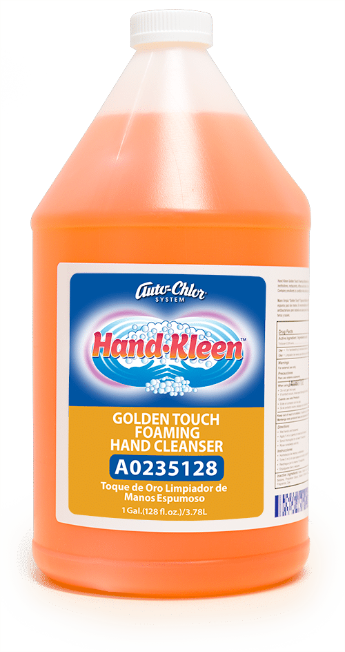 Hand Kleen, Foaming Hand Cleanser, EPA Approved Hand Soap, Auto-Chlor